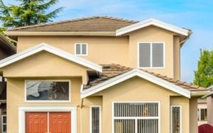 paint a house exterior
